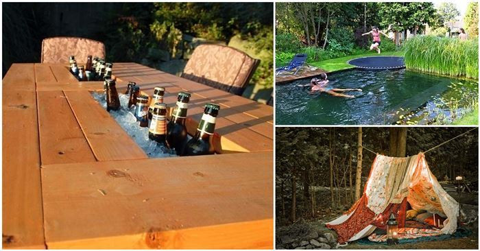 Best ideas about Cheap DIY Backyard Ideas . Save or Pin 26 Incredible DIY Ideas For Your Backyard This Summer Now.