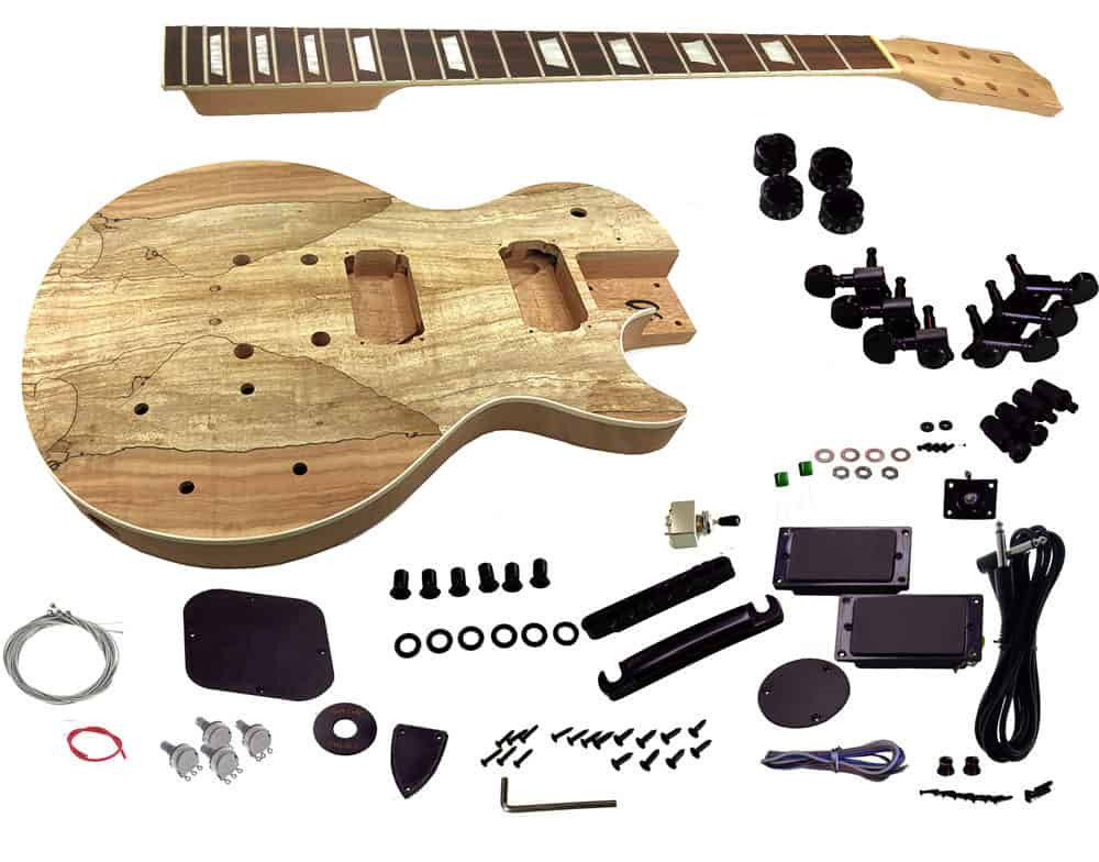Best ideas about Cheap DIY Guitar Kits . Save or Pin Solo LP and Unfinished Style DIY Guitar Kit Mahogany Body Now.