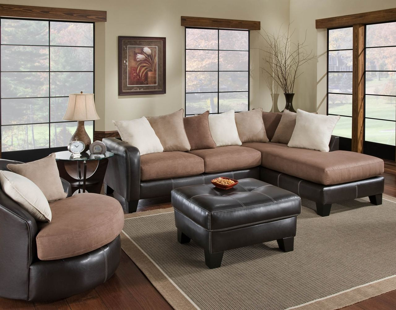 Best ideas about Cheap Living Room Furniture . Save or Pin Ava Furniture Houston Cheap Discount Living Room Set 360 Now.