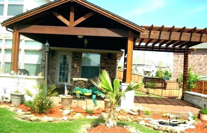 Best ideas about Cheap Patio Cover Ideas . Save or Pin Attached Covered Patio Designs Cover Plans Porches And Now.