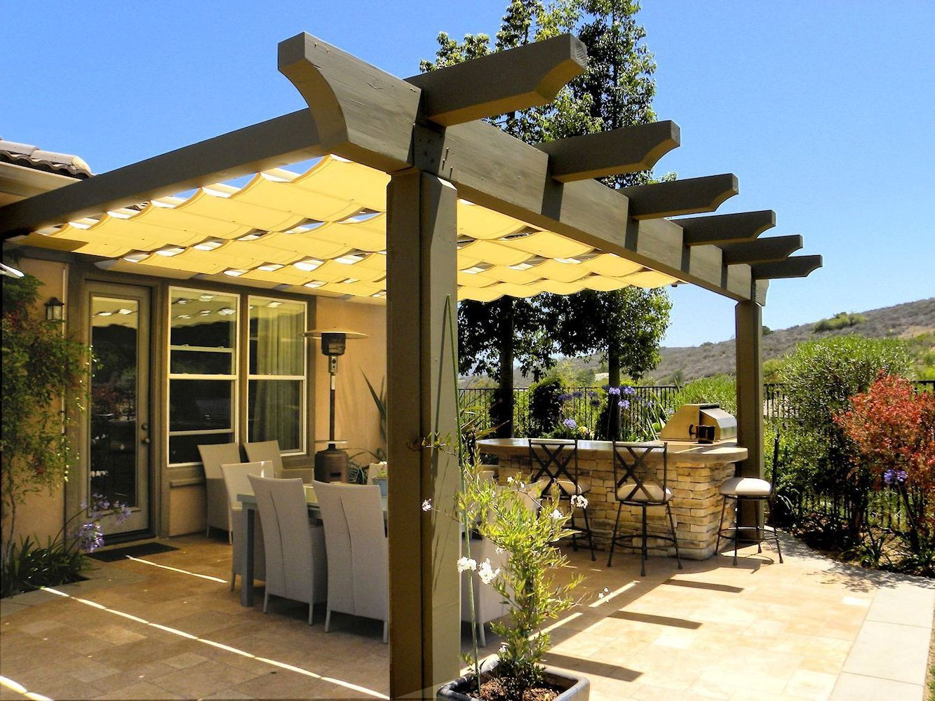 Best ideas about Cheap Patio Cover Ideas . Save or Pin Clever Ways to Create Cheap Patio Cover Ideas Home Now.