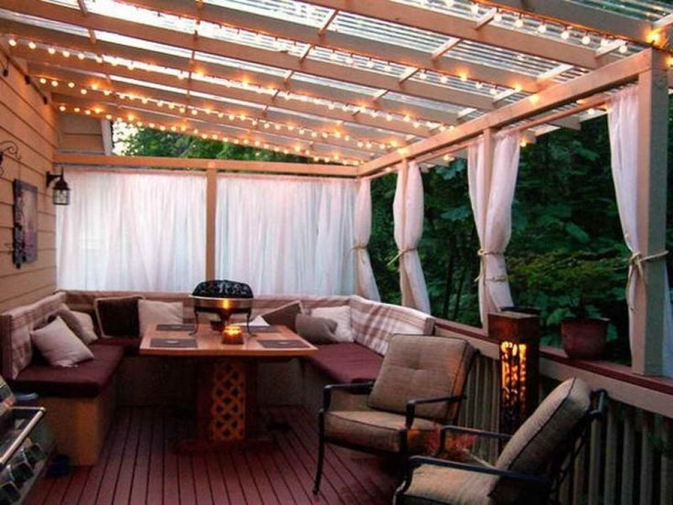 Best ideas about Cheap Patio Cover Ideas . Save or Pin Cheap Patio Cover In Backyard Ideas With Deck Cool Cozy Now.