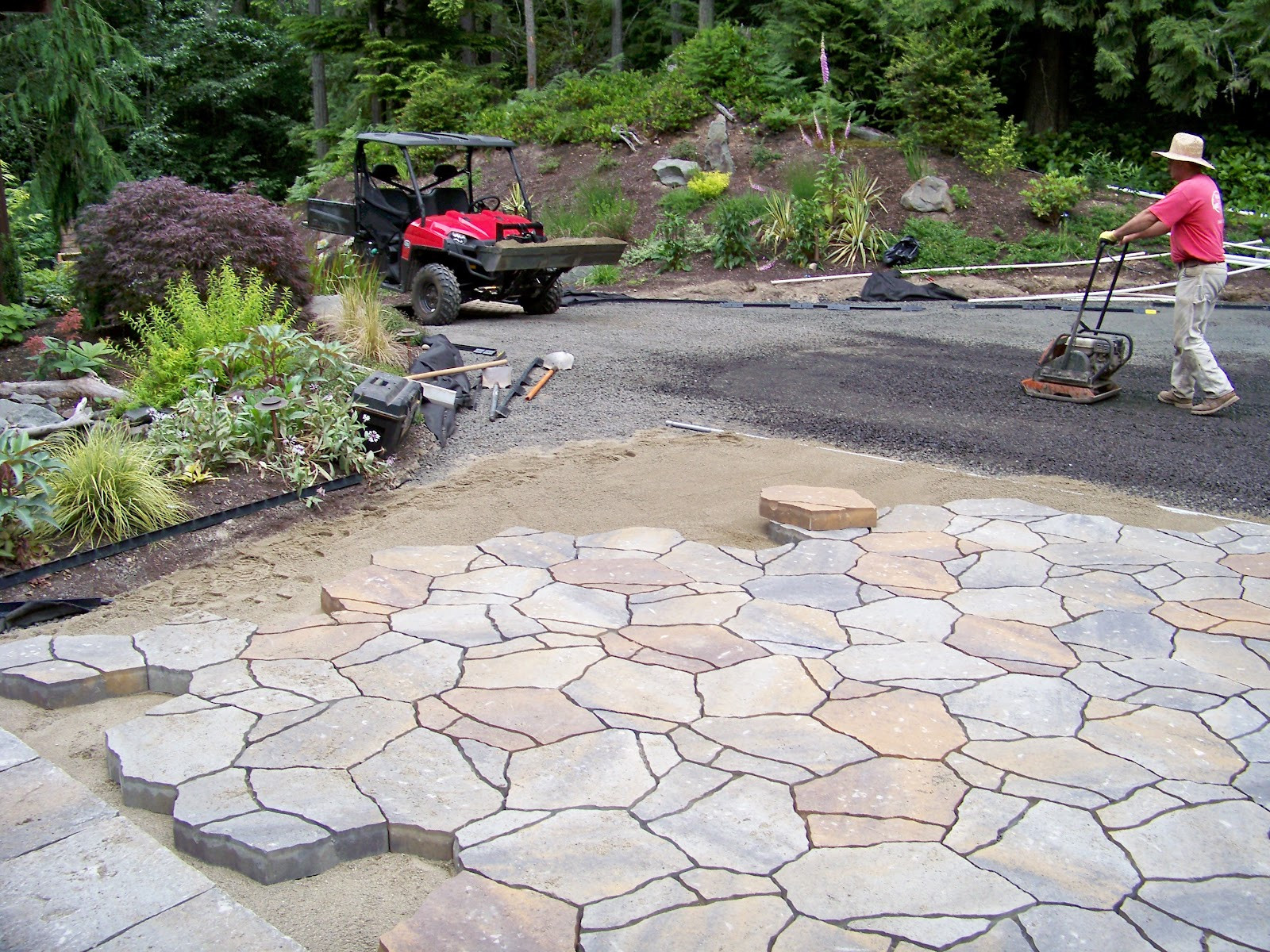 Best ideas about Cheap Patio Pavers . Save or Pin Inexpensive Pavers For Patio Cheap Patio Pavers Patio Now.