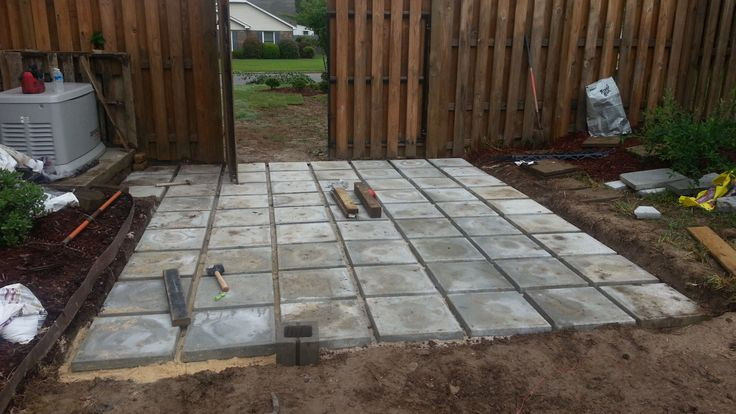 Best ideas about Cheap Patio Pavers . Save or Pin Concrete pavers were cheap and have texture on top later Now.