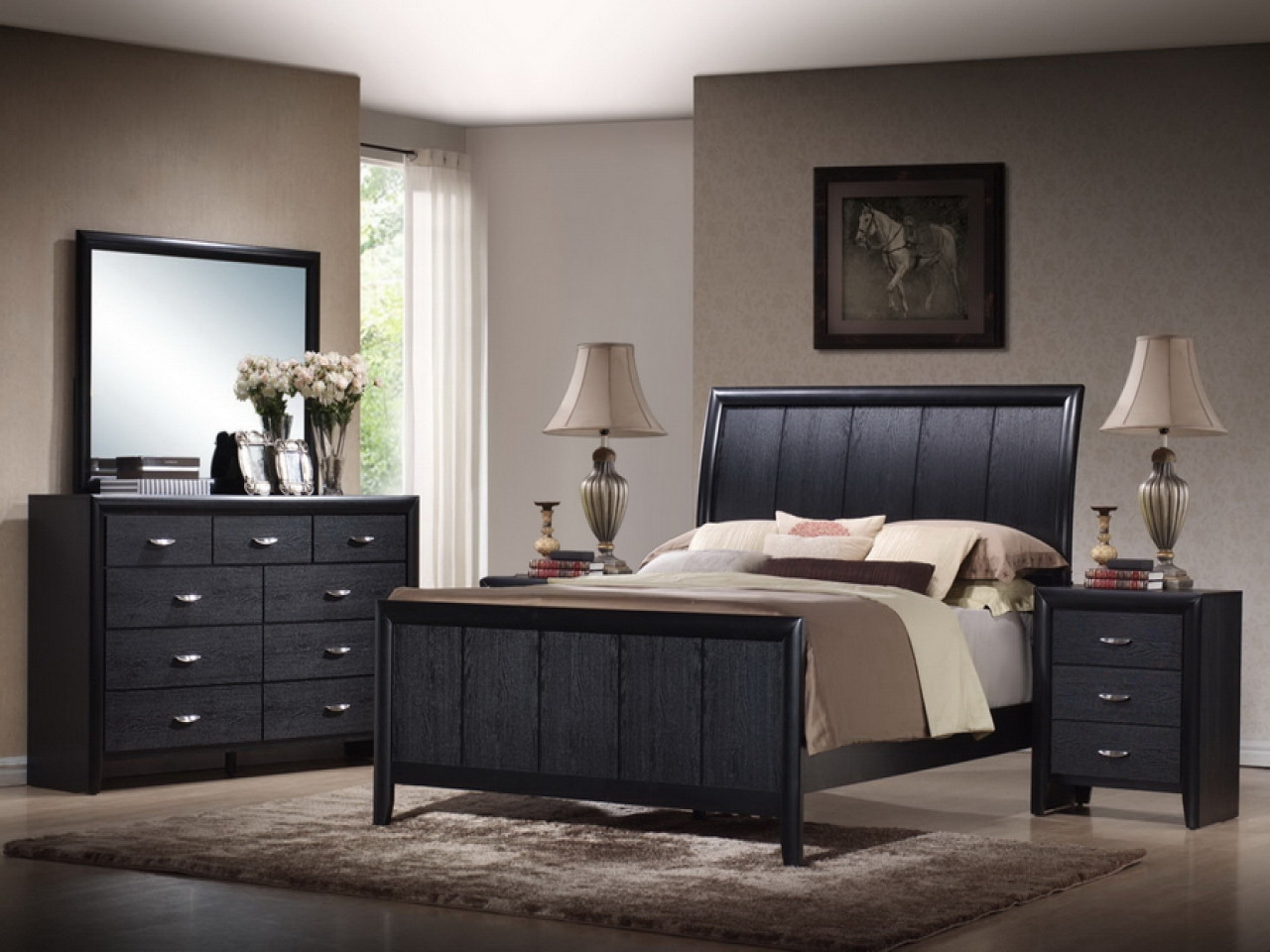 Best ideas about Cheap Queen Bedroom Sets . Save or Pin Nice bedroom sets cheap bedroom decorating ideas bedroom Now.