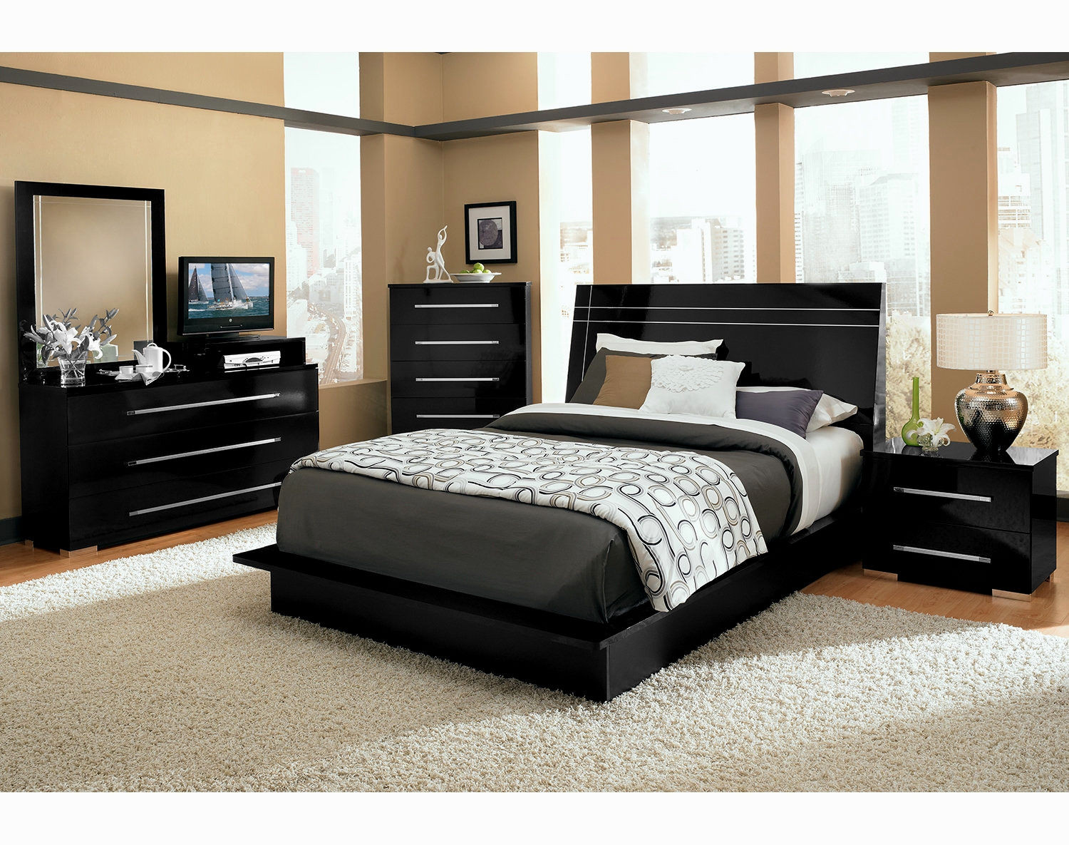 Best ideas about Cheap Queen Bedroom Sets . Save or Pin Stylish Cheap Queen Bedroom Sets Image Bedroom Now.
