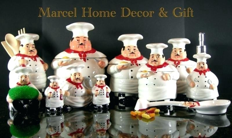 Best ideas about Chef Kitchen Decor Family Dollar . Save or Pin Chef Kitchen Decor Sets Image Set Theme For Plan 6 Fat Now.