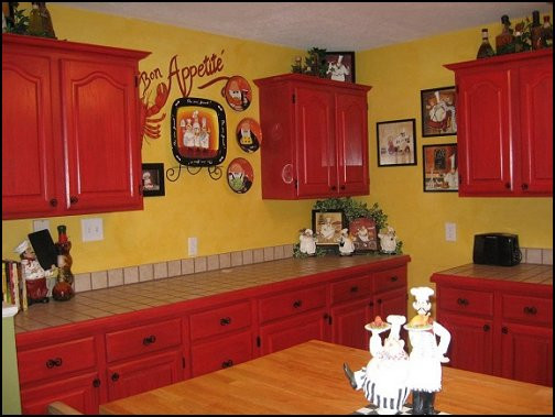 Best ideas about Chefs Kitchen Decor . Save or Pin Decorating theme bedrooms Maries Manor fat chef Now.