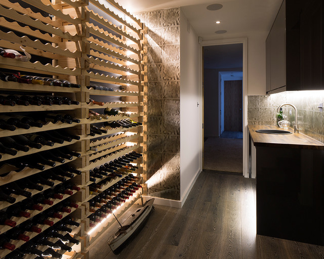 Best ideas about Chelsea Wine Cellar . Save or Pin Chelsea terrace house with basement Contemporary Wine Now.