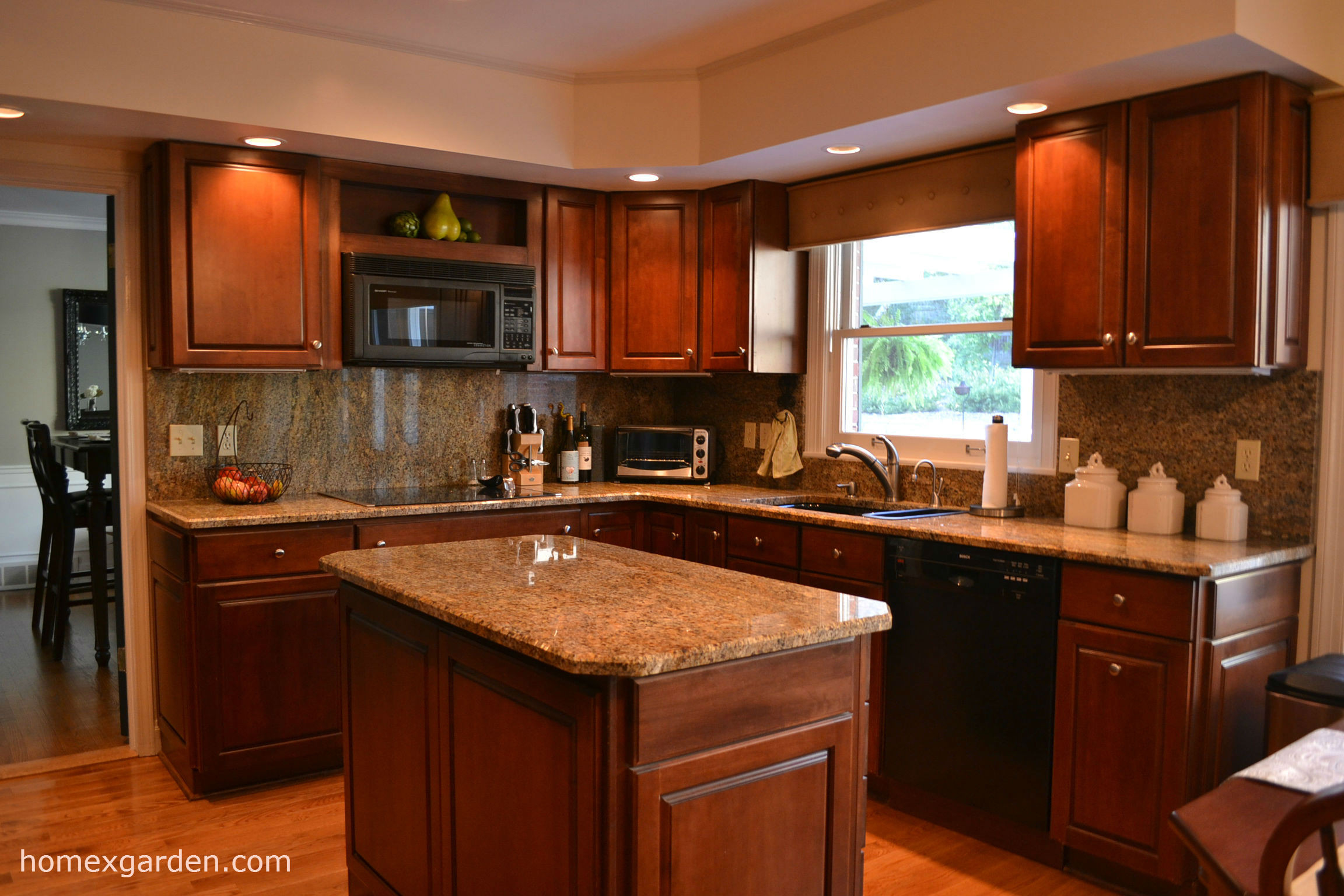 Best ideas about Cherry Cabinet Kitchen Ideas . Save or Pin Perfect Kitchen Paint Ideas With Cherry Cabinets Now.