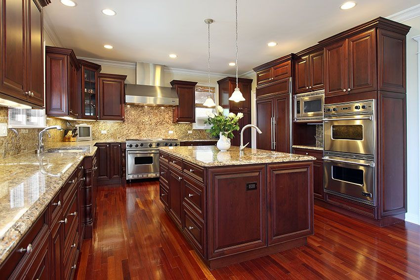 Best ideas about Cherry Cabinet Kitchen Ideas . Save or Pin 25 Cherry Wood Kitchens Cabinet Designs & Ideas Now.