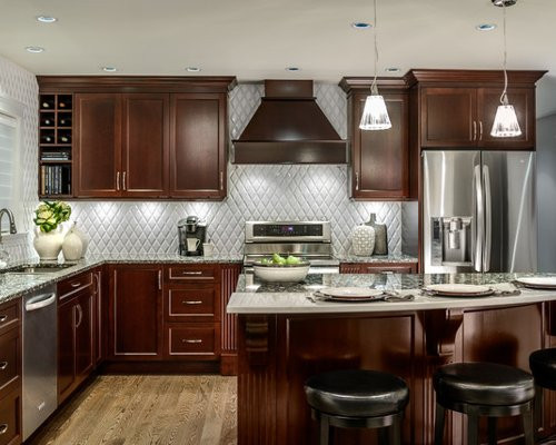 Best ideas about Cherry Cabinet Kitchen Ideas . Save or Pin Cherry Cabinets Kitchen Now.