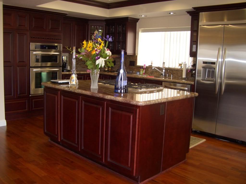 Best ideas about Cherry Cabinet Kitchen Ideas . Save or Pin Kitchen Ideas with Cherry Cabinets Home Furniture Design Now.
