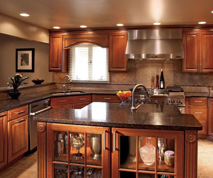 Best ideas about Cherry Cabinet Kitchen Ideas . Save or Pin Best 25 Cherry kitchen cabinets ideas on Pinterest Now.