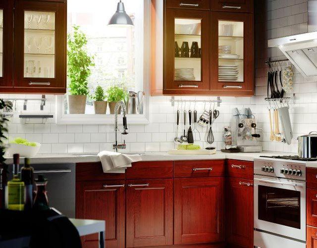Best ideas about Cherry Cabinet Kitchen Ideas . Save or Pin 1000 ideas about Cherry Cabinets on Pinterest Now.