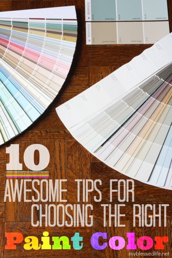 Best ideas about Choosing Paint Colors . Save or Pin 10 Awesome Tips For Choosing The Right Paint Color Now.