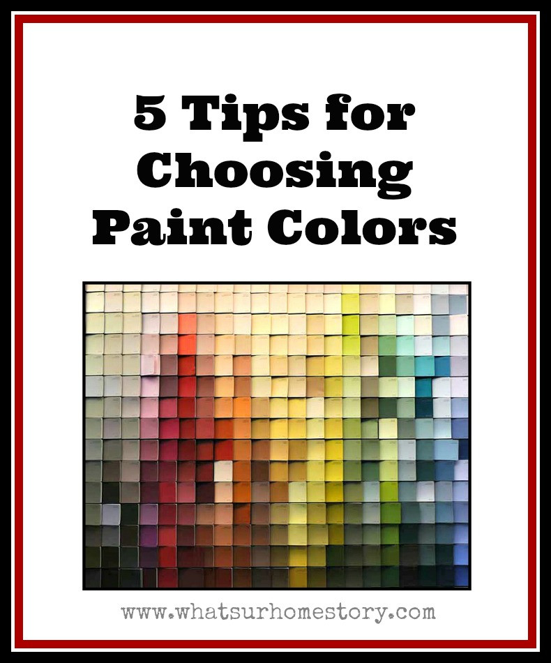 Best ideas about Choosing Paint Colors . Save or Pin 5 Tips on How to Choose Paint Colors Now.