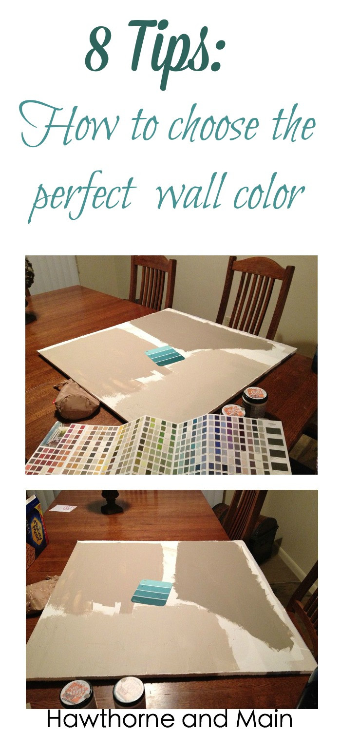 Best ideas about Choosing Paint Colors . Save or Pin 8 Tips on Choosing the Perfect Wall Color – Page 2 of 2 Now.
