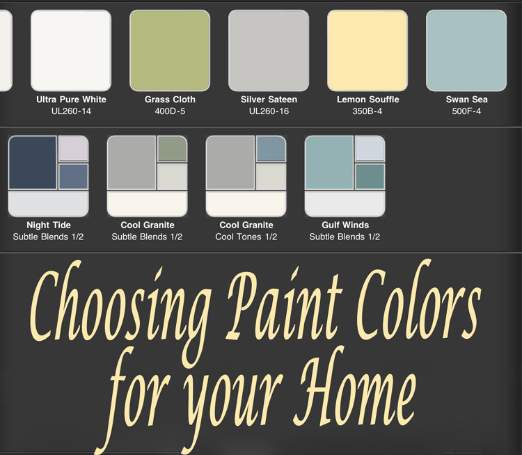 Best ideas about Choosing Paint Colors . Save or Pin Choosing Paint Colors for Your House – Stoneybrooke Story Now.
