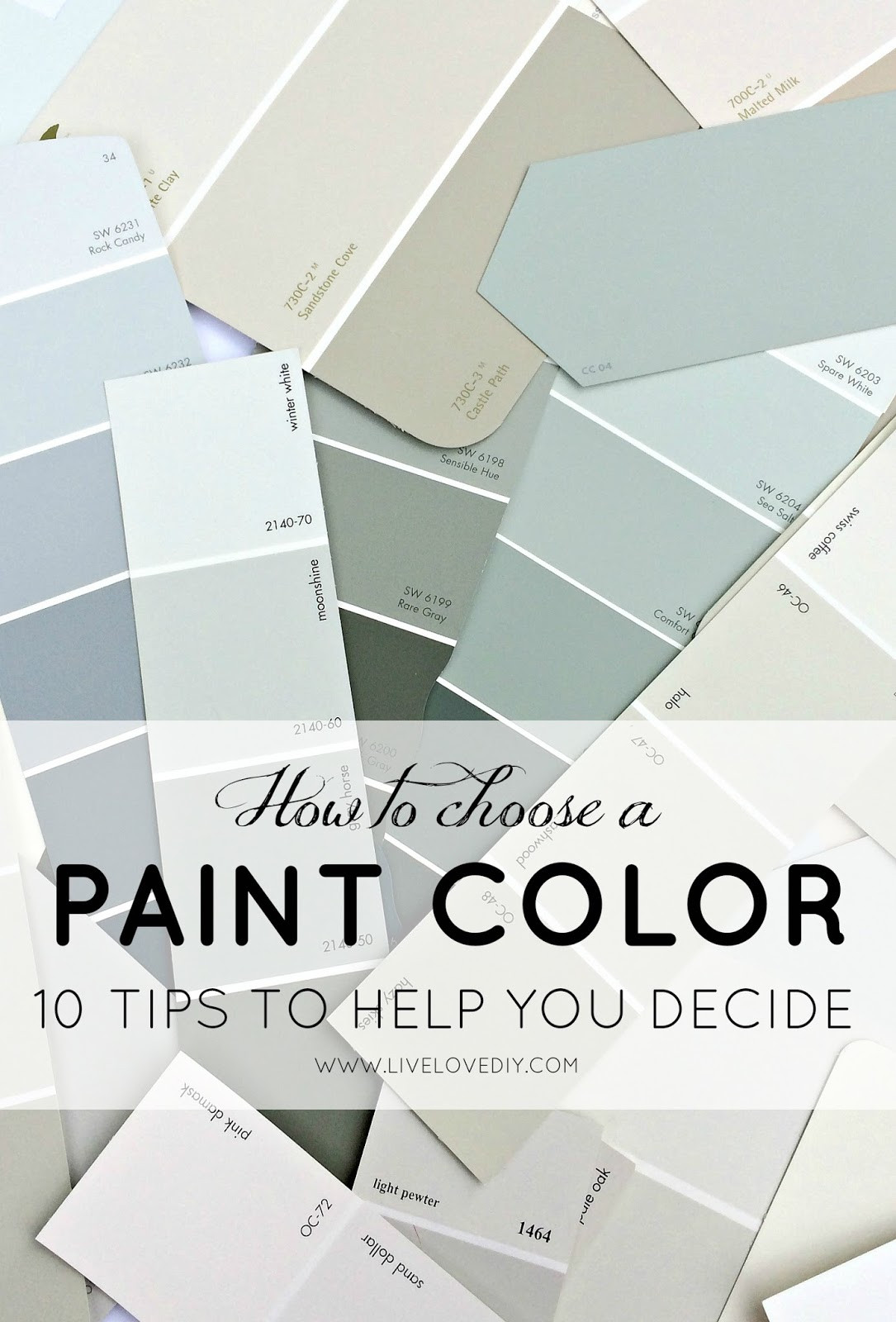 Best ideas about Choosing Paint Colors . Save or Pin How To Choose a Paint Color 10 Tips To Help You Decide Now.