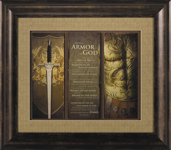 Best ideas about Christian Wall Art . Save or Pin Full Armor of God Ephesians 6 Christian Wall Decor Now.