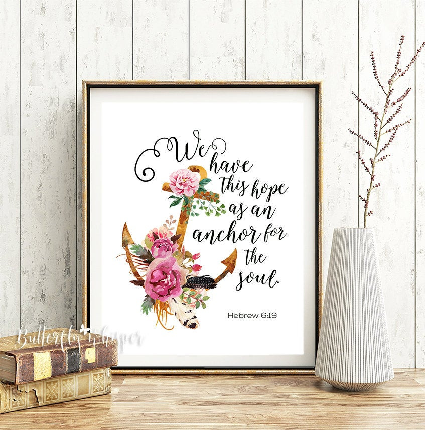 Best ideas about Christian Wall Art . Save or Pin Bible verse wall art Christian scripture print We have this Now.