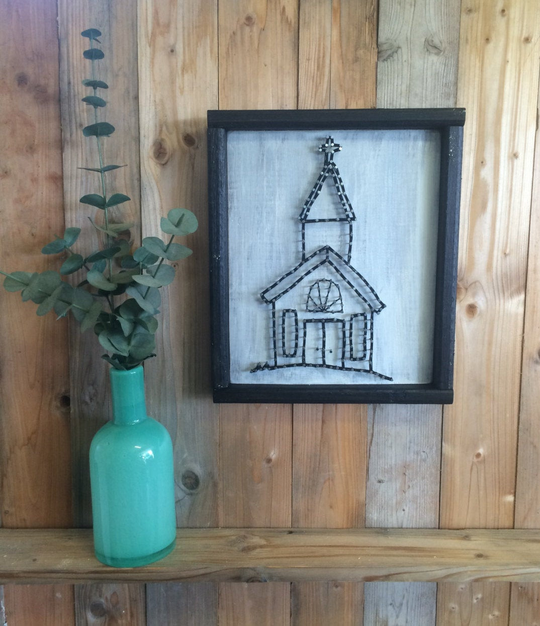 Best ideas about Christian Wall Art . Save or Pin Church String Art Christian Wall Decor Chapel Design Now.