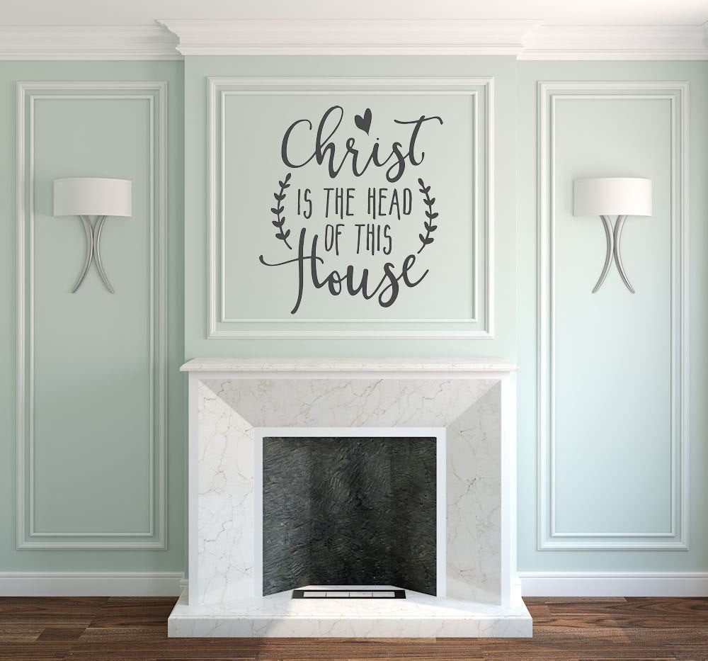 Best ideas about Christian Wall Art . Save or Pin Christian Wall Art Wall Decal Christian by AmandasDesignDecals Now.