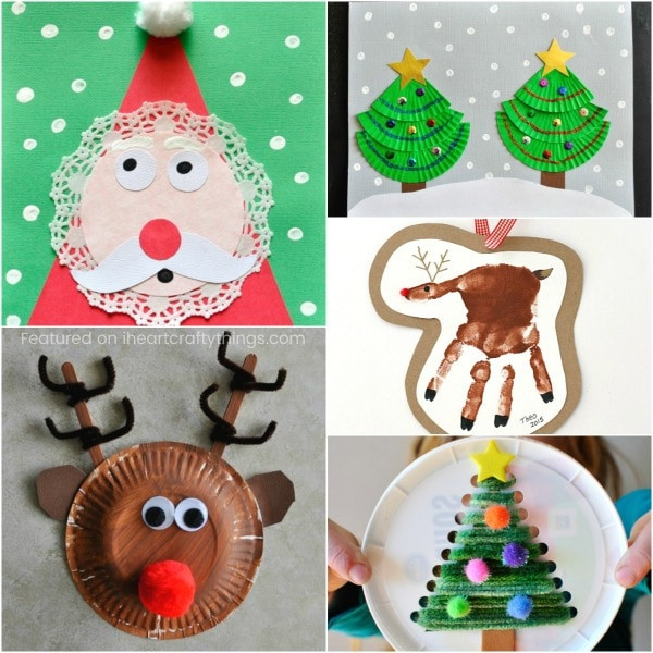 Best ideas about Christmas Arts And Craft Ideas For Preschoolers . Save or Pin 50 Christmas Arts and Crafts Ideas Now.