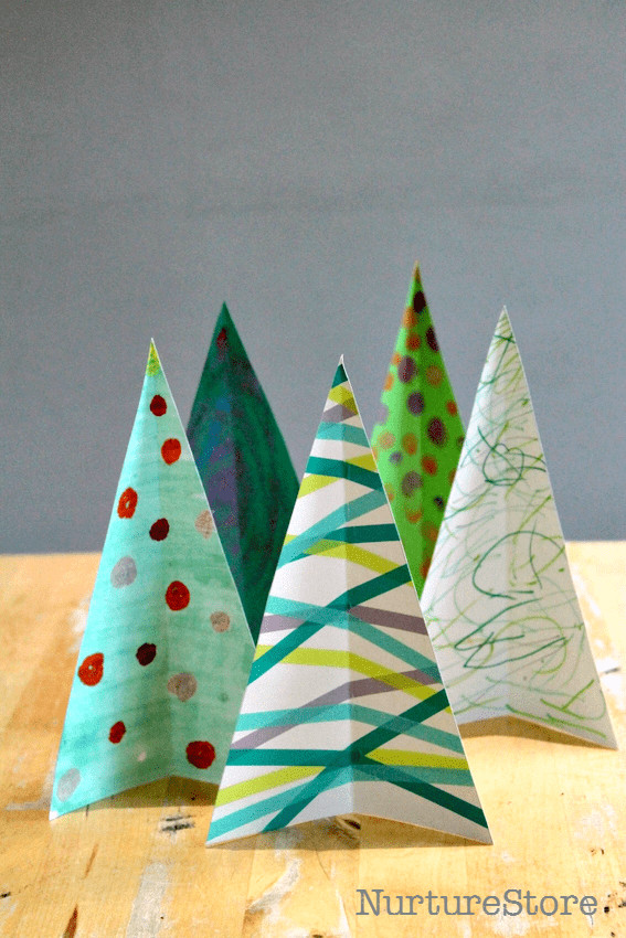 Best ideas about Christmas Arts And Craft Ideas For Preschoolers . Save or Pin Christmas sensory play Christmas tree craft and Now.