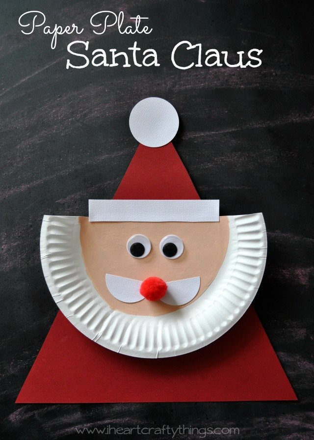 Best ideas about Christmas Arts And Craft Ideas For Preschoolers . Save or Pin Paper Plate Christmas Crafts U Create Now.