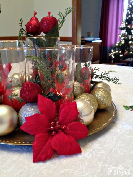 Best ideas about Christmas Centerpiece DIY . Save or Pin How to Create a Meaningful Christmas Centerpiece for $5 Now.