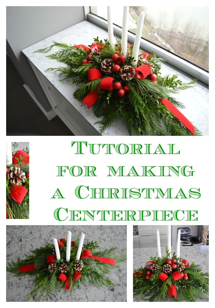 Best ideas about Christmas Centerpiece DIY . Save or Pin DIY Evergreen Christmas Centerpiece Celebrate & Decorate Now.