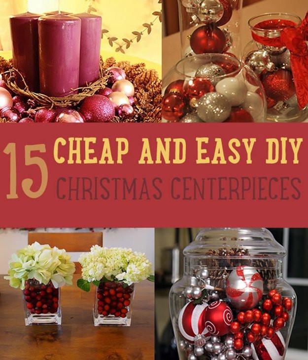 Best ideas about Christmas Centerpiece DIY . Save or Pin Christmas Centerpiece Ideas Now.