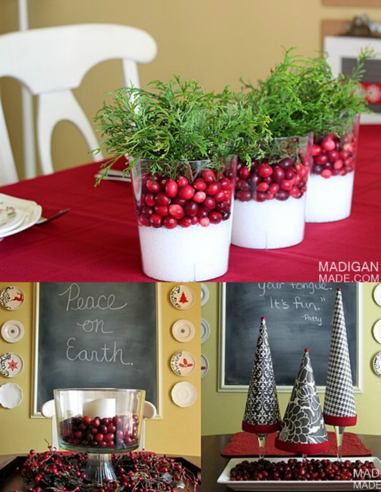 Best ideas about Christmas Centerpiece DIY . Save or Pin 21 Beautifully Festive Christmas Centerpieces You Can Now.