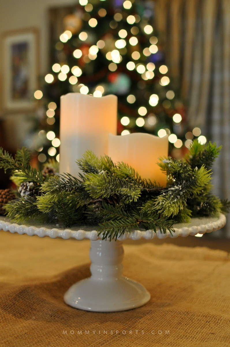 Best ideas about Christmas Centerpiece DIY . Save or Pin 5 Simple DIY Holiday Centerpieces Kristen Hewitt Now.