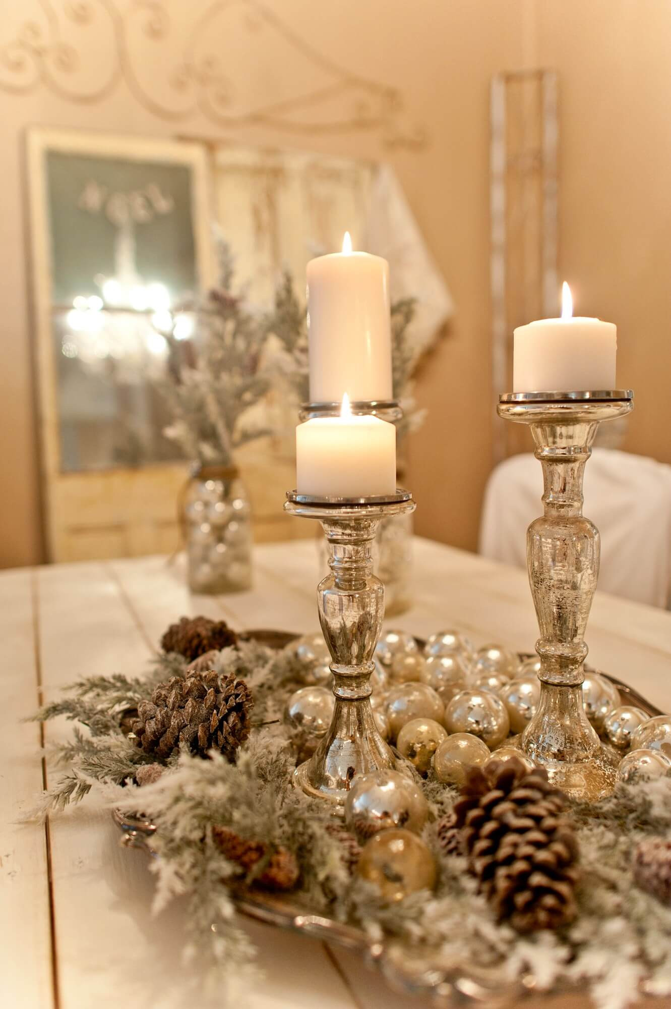 Best ideas about Christmas Centerpiece DIY . Save or Pin 28 Best DIY Christmas Centerpieces Ideas and Designs for Now.