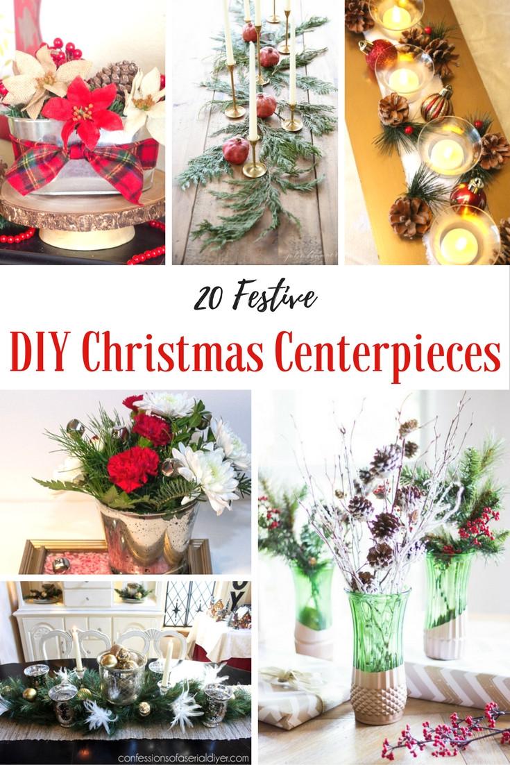 Best ideas about Christmas Centerpiece DIY . Save or Pin How to Make a Christmas Centerpiece 20 Easy DIYs Now.