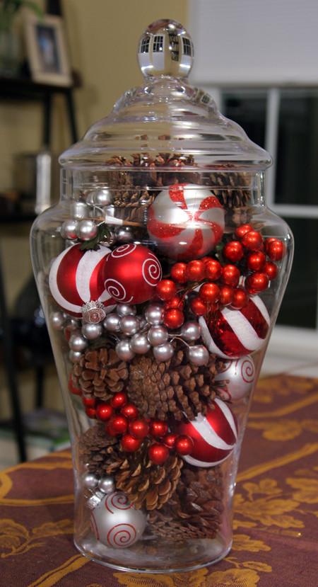 Best ideas about Christmas Centerpieces DIY . Save or Pin 4 Simple Christmas Centerpieces 24 7 Moms Now.