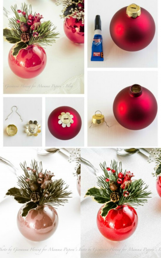 Best ideas about Christmas Centerpieces DIY . Save or Pin 21 Beautifully Festive Christmas Centerpieces You Can Now.