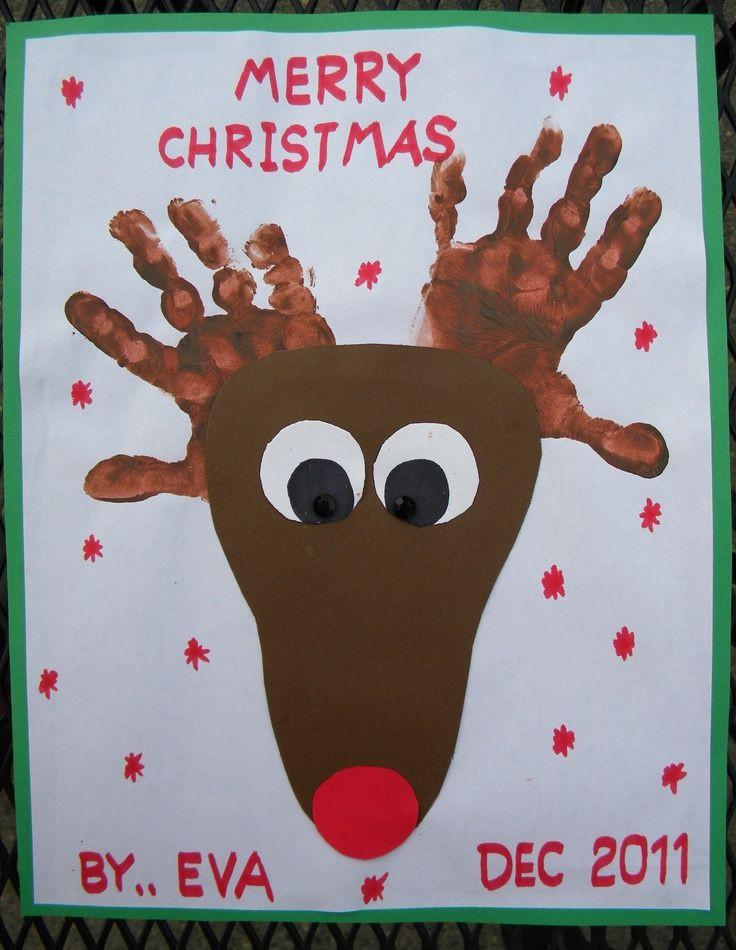 Best ideas about Christmas Craft For Toddlers Pinterest . Save or Pin Professora Juce Renas reciclagem para Educação Infantil Now.