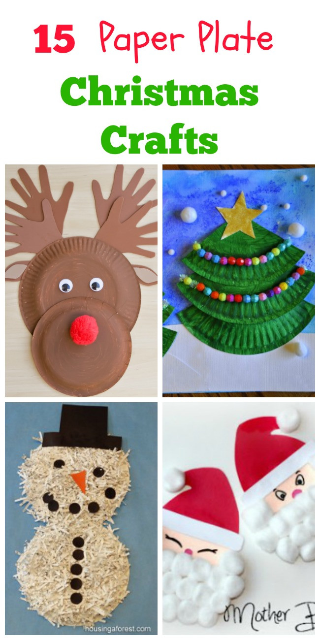 Best ideas about Christmas Craft For Toddlers Pinterest . Save or Pin Paper Plate Christmas Crafts How Wee Learn Now.