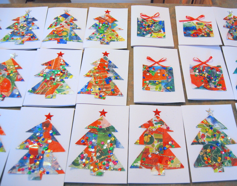 Best ideas about Christmas Craft For Toddlers Pinterest . Save or Pin Christmas card crafts for kids before there was Pinterest Now.