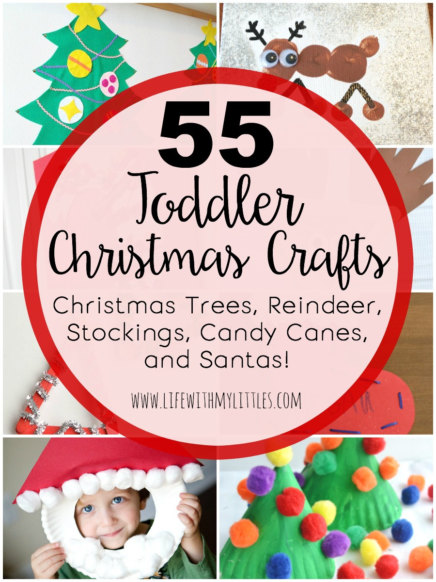 Best ideas about Christmas Craft For Toddlers Pinterest . Save or Pin Toddler Christmas Crafts Life With My Littles Now.