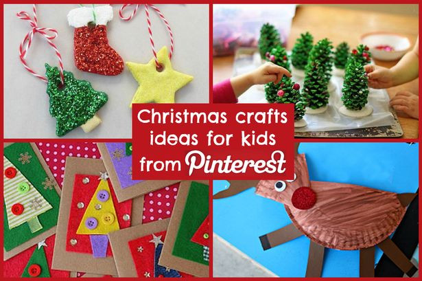 Best ideas about Christmas Craft For Toddlers Pinterest . Save or Pin Christmas craft ideas for kids from Pinterest Liverpool Echo Now.