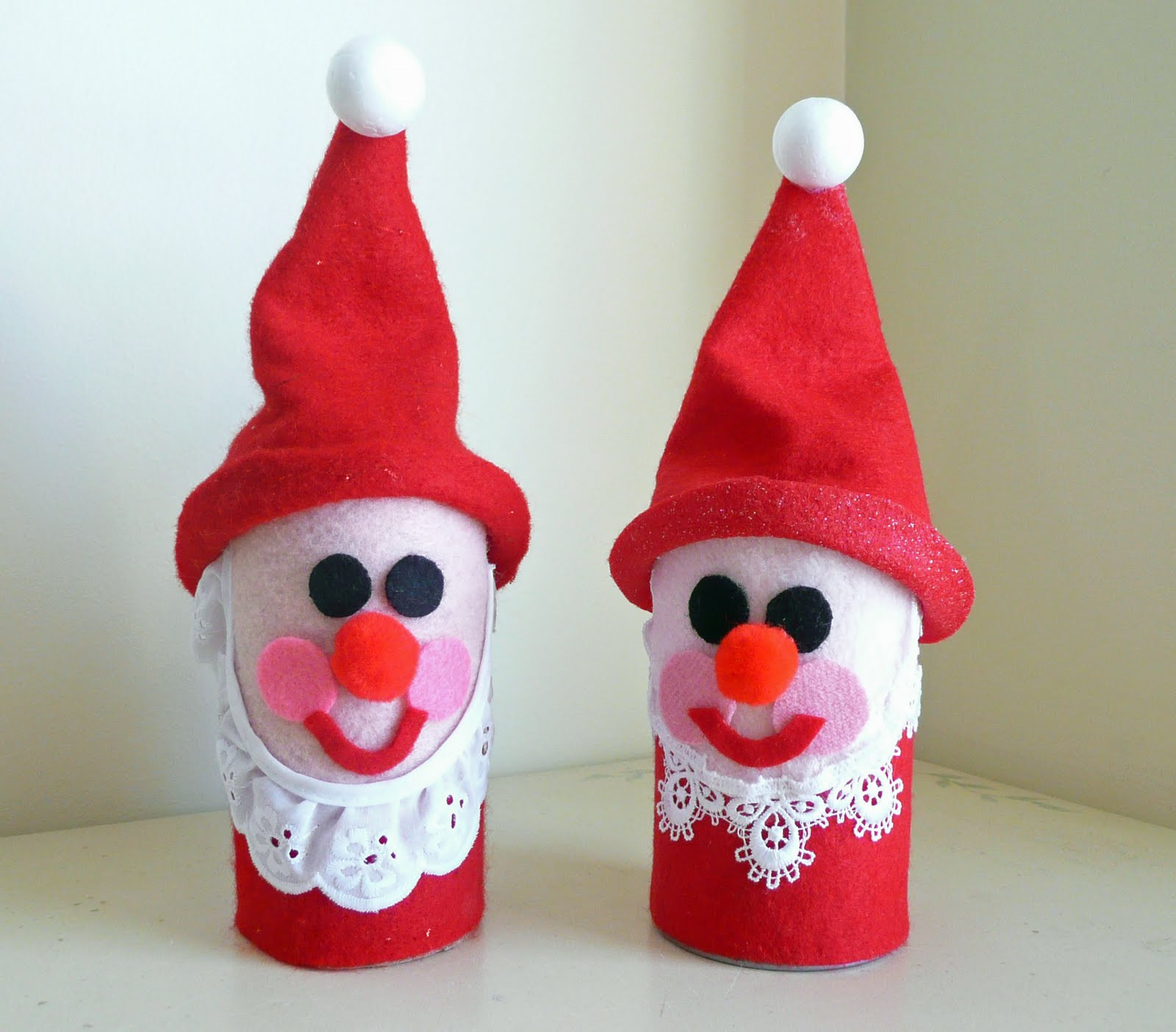 Best ideas about Christmas Craft Ideas For Kids . Save or Pin Preschool Crafts for Kids Toilet Roll Santa Christmas Craft Now.