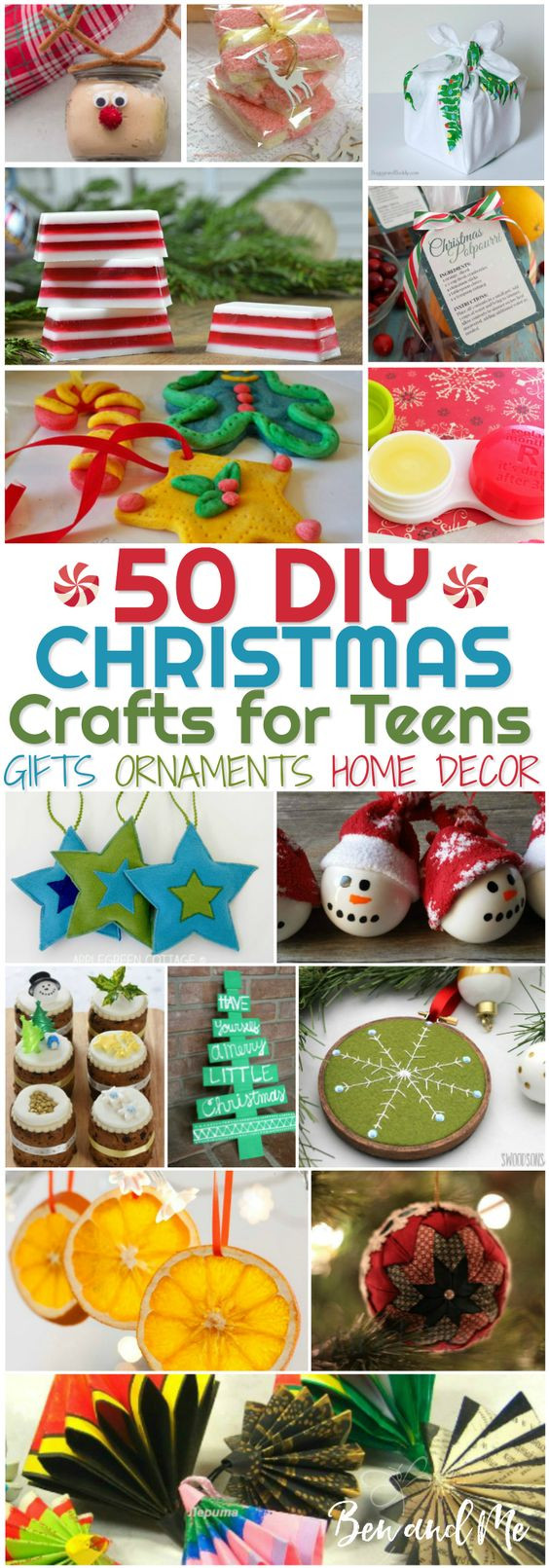 Best ideas about Christmas Crafts For Teen . Save or Pin DIY Christmas Crafts for Teens Homeschool Giveaways Now.