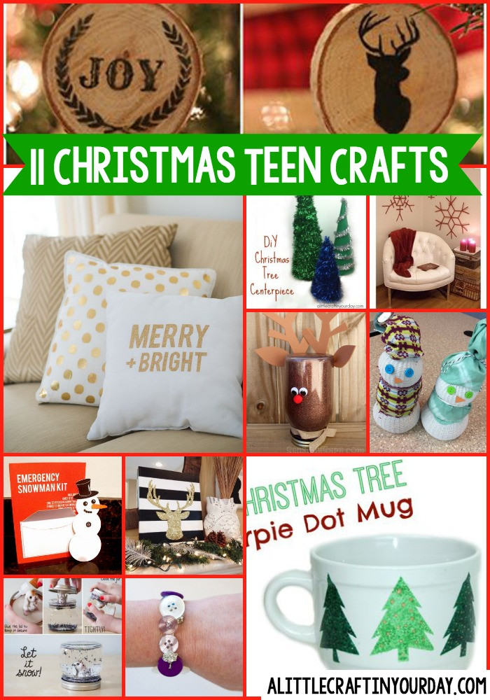 Best ideas about Christmas Crafts For Teen . Save or Pin 11 DIY Christmas Teen Crafts A Little Craft In Your Day Now.