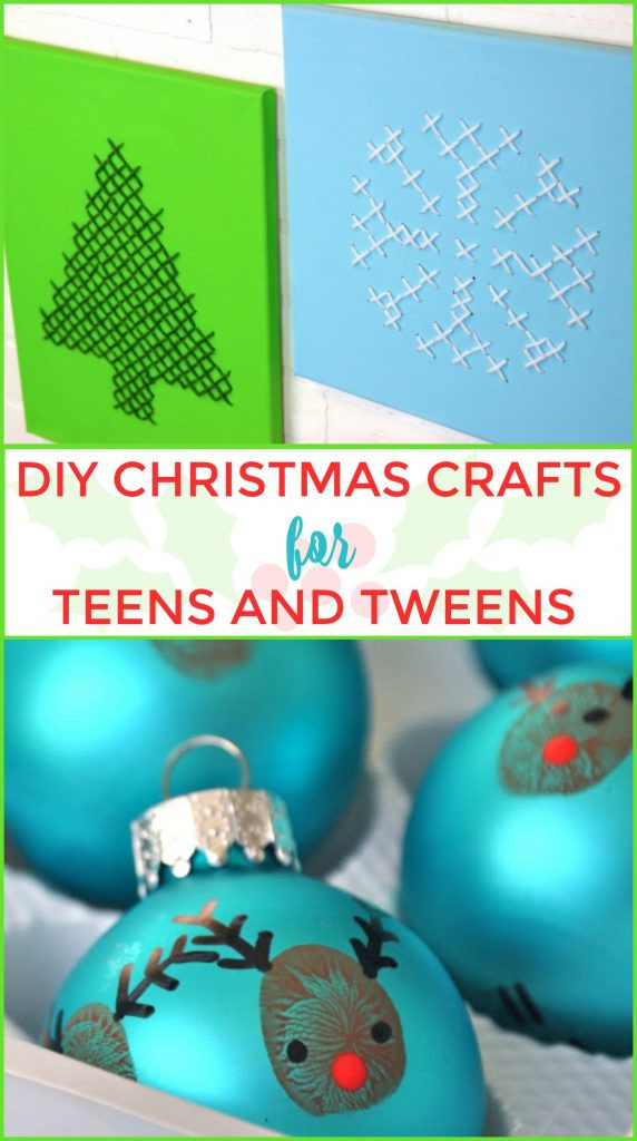 Best ideas about Christmas Crafts For Teen . Save or Pin DIY Christmas Crafts For Teens and Tweens A Little Craft Now.