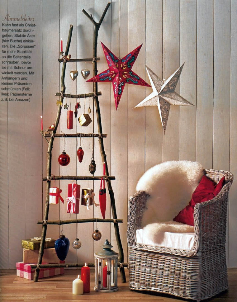 Best ideas about Christmas DIY Decoration Ideas . Save or Pin 23 Creative And Unusual DIY Christmas Tree Ideas Now.